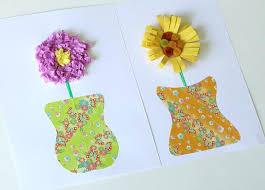 Paper Flower Crafts For Kindergarten Paper Projects For Kids Paper Bag Animal Crafts For Kids Home Ideas
