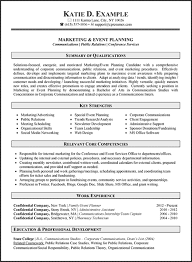 Examples Of Marketing Resumes Resume Samples Types Of Resume Formats Examples Templates