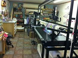 137 best Free motion & Long Arm Quilting images on Pinterest ... & The wonderful sewing space of Krista Withers Quilting. She has 300 square  feet. She · Quilting RoomLongarm ... Adamdwight.com