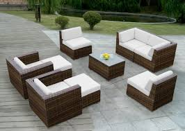 outdoor furniture wicker. Interesting Wicker Great Genuine Ohana Outdoor Patio Sofa Mixed Brown Wicker Sectional With  Furniture Prepare In U