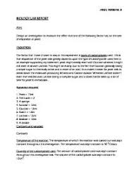 Formal Lab Report Template     Formal Lab Report Template     high school biography examples    jpg