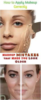 how to avoid makeup mistakes that make you look older and books makeup mistakes make up and make up tricks