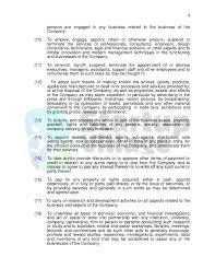 memorandum sample business sample memorandum of association it firm