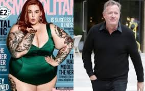 Tess Holliday Size Chart Tess Holliday Claps Back At Piers Morgan After He Mocked Her