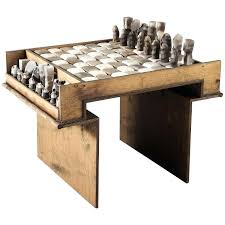 chess coffee table exceptional ceramic chess set and table for make a chess board coffee table