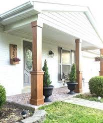 exterior column wraps. Porch Column Wraps Home Depot Design Front Columns Magazines Canada . Exterior A