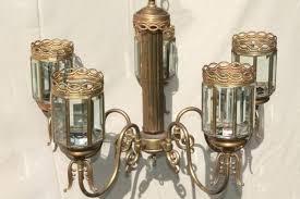 beveled glass chandelier vintage brass chandelier light w prism beveled paneled glass lantern lamp shades beveled beveled glass chandelier