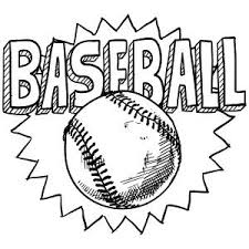 Small Picture 20 best Baseball coloring pages images on Pinterest Coloring