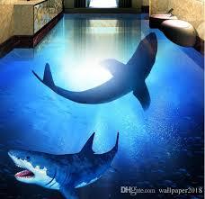 shark wallpaper 3d. Wonderful Shark Deep Sea Shark Underwater World 3d Bathroom Living Room Floor  Tileswallpaper For Bathrooms Hd High Resolution Wallpapers Widescreen  Inside Wallpaper I