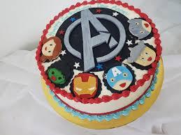 Customized Avenger Cake 9 Inch