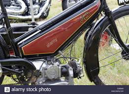 coventry eagle auto ette 1940 motorcycle stock image