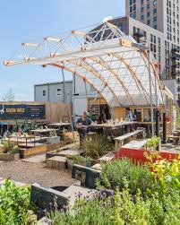 Small Picture bartlett architecture students build movable garden in london