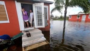quintana and liz perez look out at the flooding outside their home in the aftermath of hurricane irma in immokalee fla gerald herbert associated press