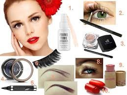 how to apply pin up makeup for hooded eyes tutorial 10 steps
