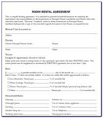 Make your free home rental agreement. Room Rental Agreement Form Free Alberta Vincegray2014