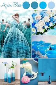 blue wedding decoration ideas. azure blue inspired wedding color ideas 2015 trends decoration t