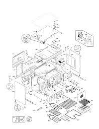 79074403995 dual fuel range body parts diagram