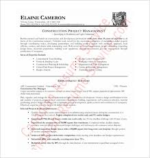 Free Pdf Resume Templates Construction Resume Template 9 Free Word Excel Pdf  Format Download