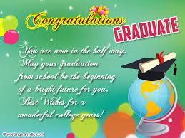 congratulations to graduate graduation congratulations messages and wordings wordings and messages