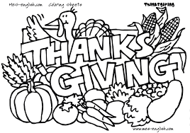 Thanksgiving Day Coloring Pages Thanksgiving Coloring Pages For ...