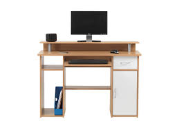 maxam computer desk with keyboard tray with 1 drawer