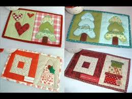 Christmas Quilt Pattern - Christmas Mug Rugs 10 Seasonal Patterns ... & Christmas Quilt Pattern - Christmas Mug Rugs 10 Seasonal Patterns - YouTube Adamdwight.com