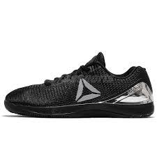 reebok nano 7 weave. reebok r crossfit nano 7 vii black silver men training shoes sneakers cm9518 weave