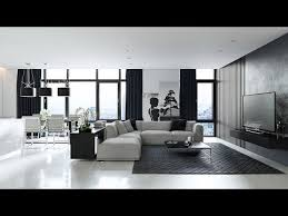 living room designs grey black and