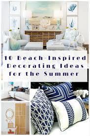 Beach Inspired Bedding 10 Beach Inspired Decorating Ideas For The Summer Summer Doors