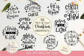 Last day up to 60% off wrapping paper, rubber stamps, ornaments & more shop now > use code: Christmas Svg Bundle Religious Christmas Ornament 407980 Cut Files Design Bundles