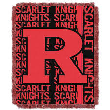 Rutgers Throw Blanket