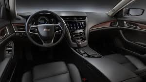 2019 cadillac cts jet black leather interior h0y