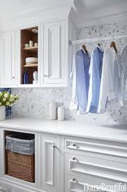 Laundry room makeovers charming small Dryer Small Laundry Room Ideas House Beautiful 15 Small Laundry Room Ideas Small Laundry Room Storage Tips