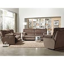 Reclining Living Room Sets Nobel Plush Living Room Reclining Sofa Loveseat 118109