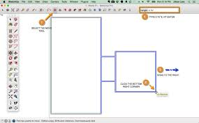sketchup 2d floor plan tutorial 07