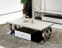 c whole living room marble modern wooden oak coffee table on living room center table