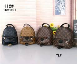 high quality best original design genuine leather mini women bag children backpack luxury famous fashion springs palm osprey backpacks book bags