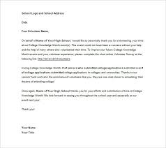 letter for volunteers 13 volunteer thank you letters pdf doc apple pages