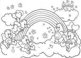Small Picture Online Rainbow Coloring Page Coloring Coloring Pages
