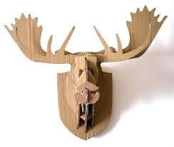 diy cardboard deer head template 85 best cardboard box moose head images on