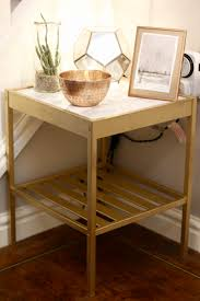Photo : Small Bedside Table Ikea Images. How You Can Use Yellow To ...