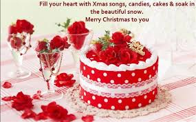 Top Merry Christmas Wishes Messages Hd Free Best Cake Wallpapers