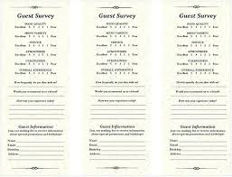 Free Comment Card Template Survey Sample Reflexapp