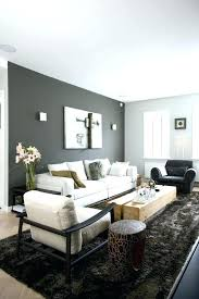 dark grey accent wall and light other walls neutral furniture color passion bold painted gray blue accent wall with gray