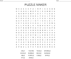 Word Photo Maker Puzzle Maker Word Search Wordmint