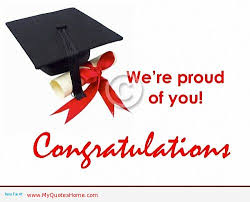 Were Proud Of You Congratulations On Your Graduation