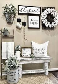 25 cozy farmhouse entryway decor ideas