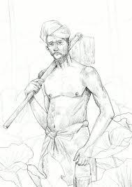 Folks From Kerala Illustration Character Design Art Direction