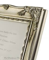 antique silver shabby chic ornate swept vintage picture frame for a 20 x 16 508mm x 406mm photo