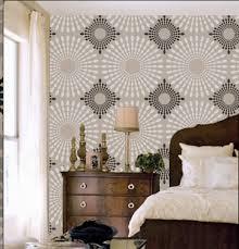 Wall Stencil Patterns Mesmerizing Decorative Wall Stencils Beautiful Perri Cone Design How To Buy